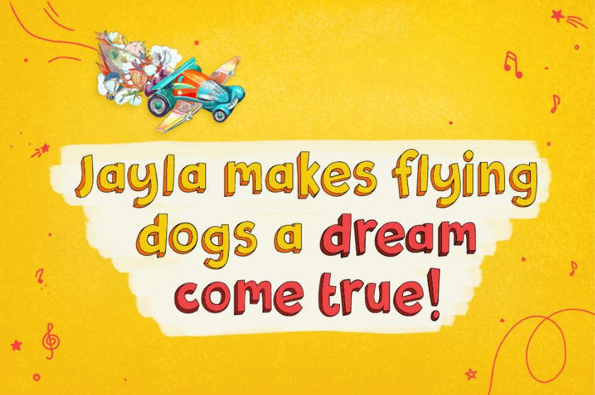 Jayla Makes Flying Dogs a Dream Come True