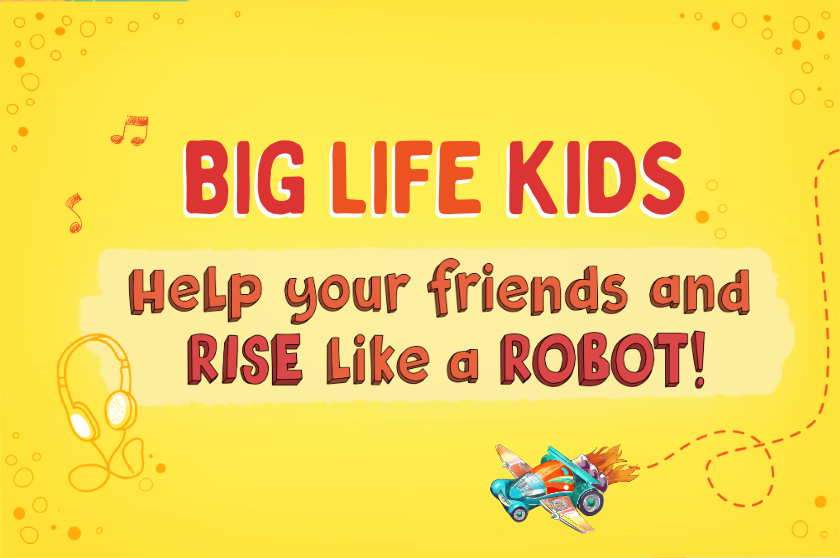 Help your friends and RISE like a ROBOT!