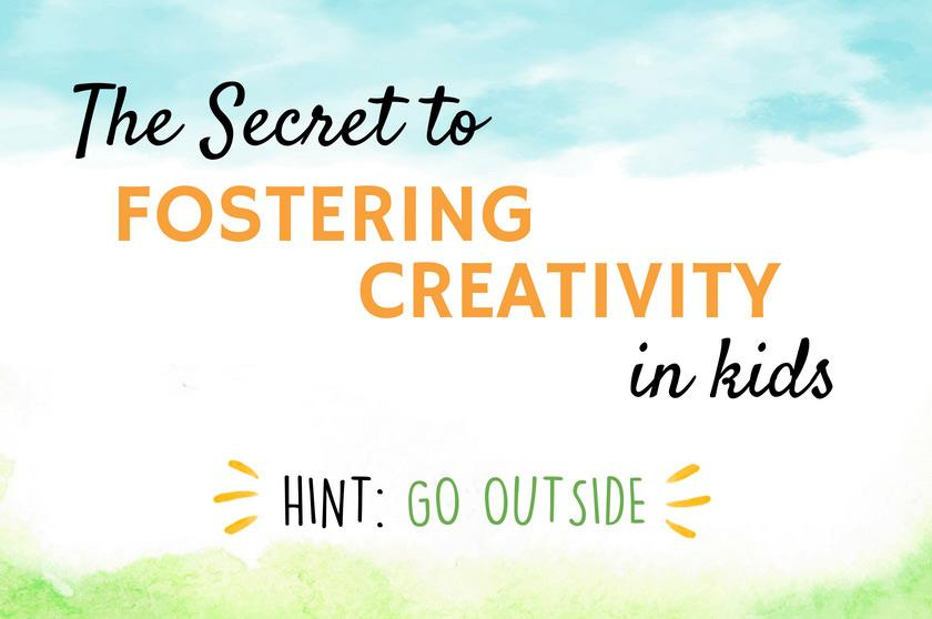 The secret to fostering creativity in children