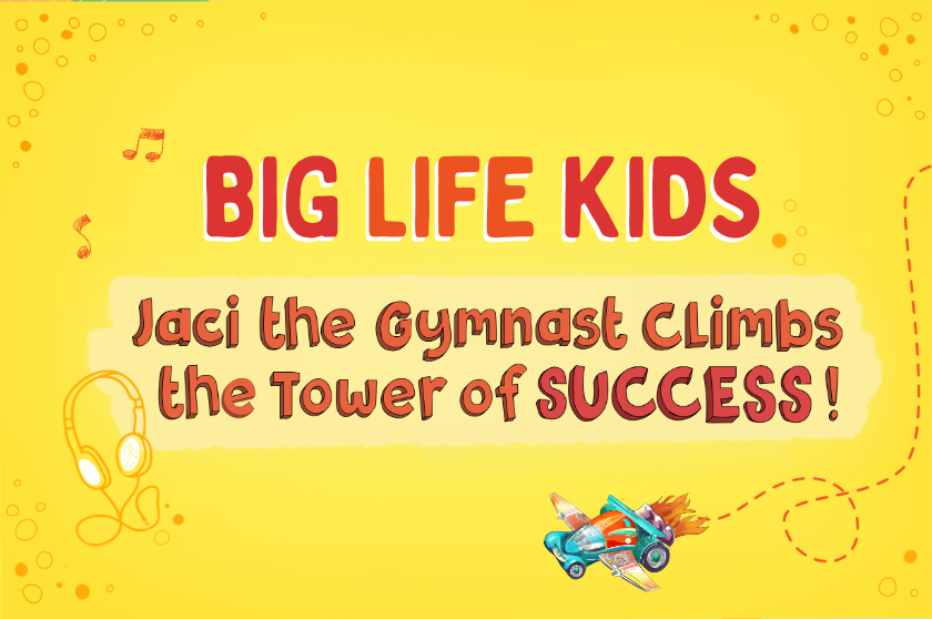 Jaci the Gymnast Climbs the Tower of SUCCESS!