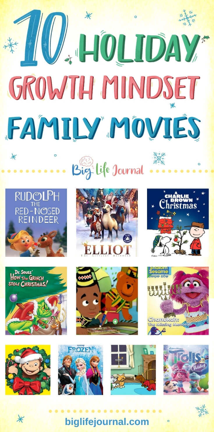 10 Growth Mindset Holiday Movies