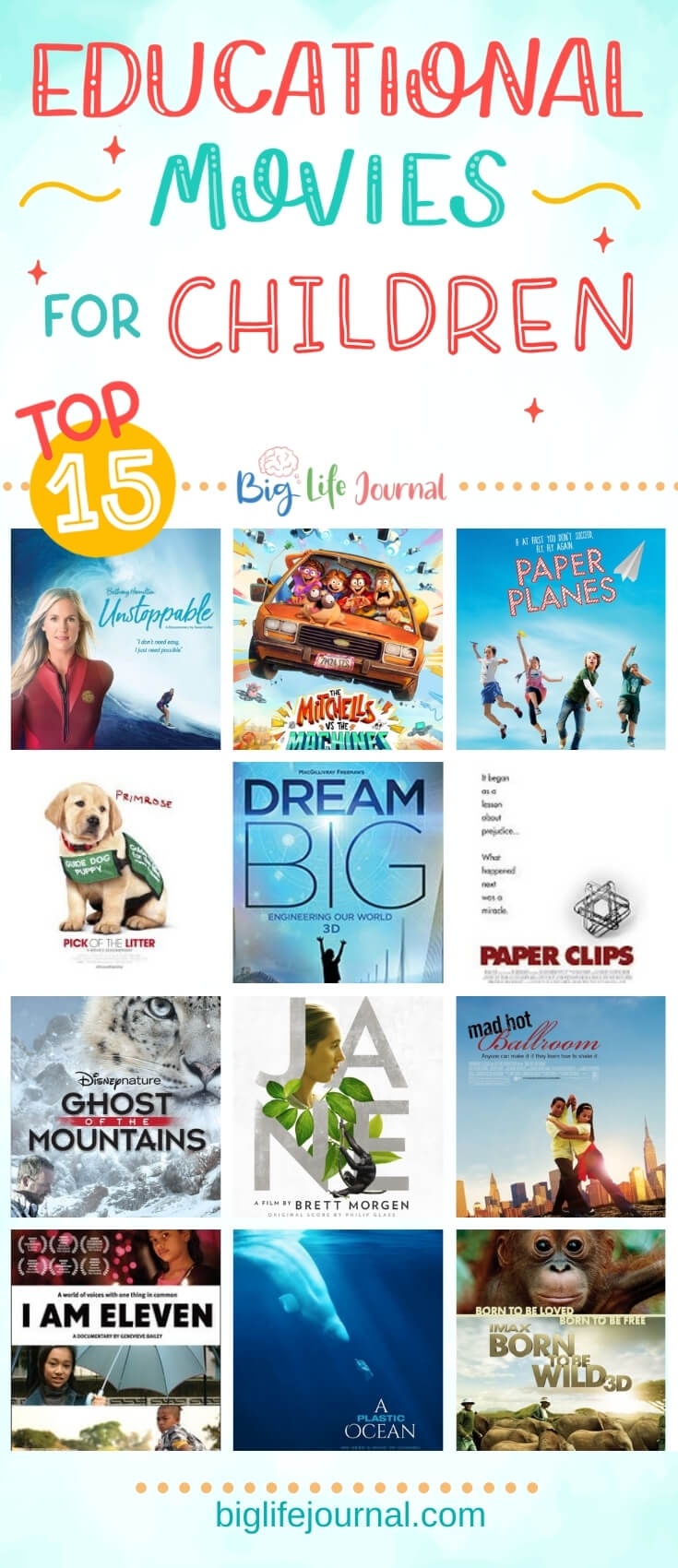 15 Educational Movies for Children