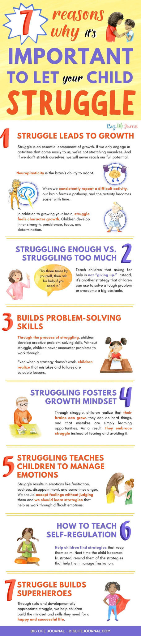 7 Reasons Why it's Important to Let Your Child Struggle