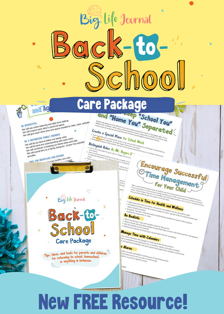 Back to School Printable Care Package