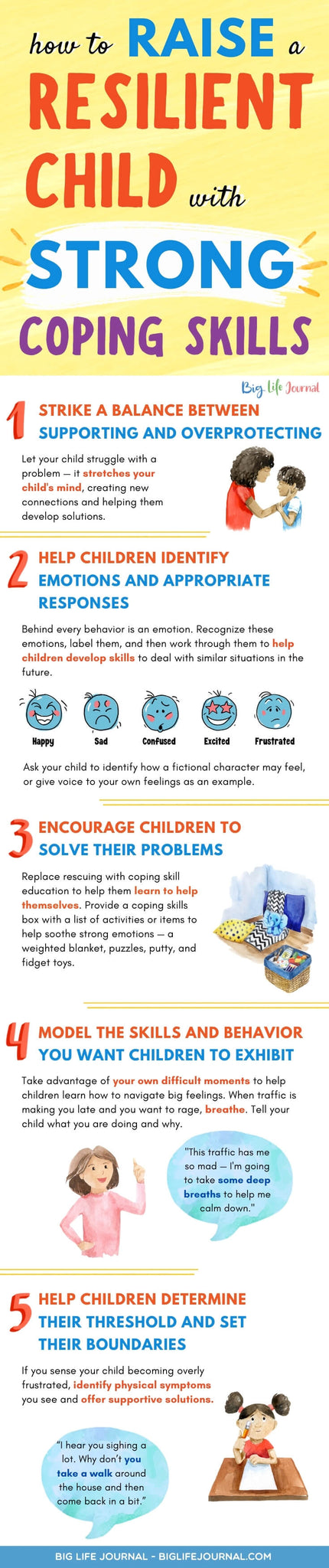 Raise Resilient Child with Strong Coping Skills