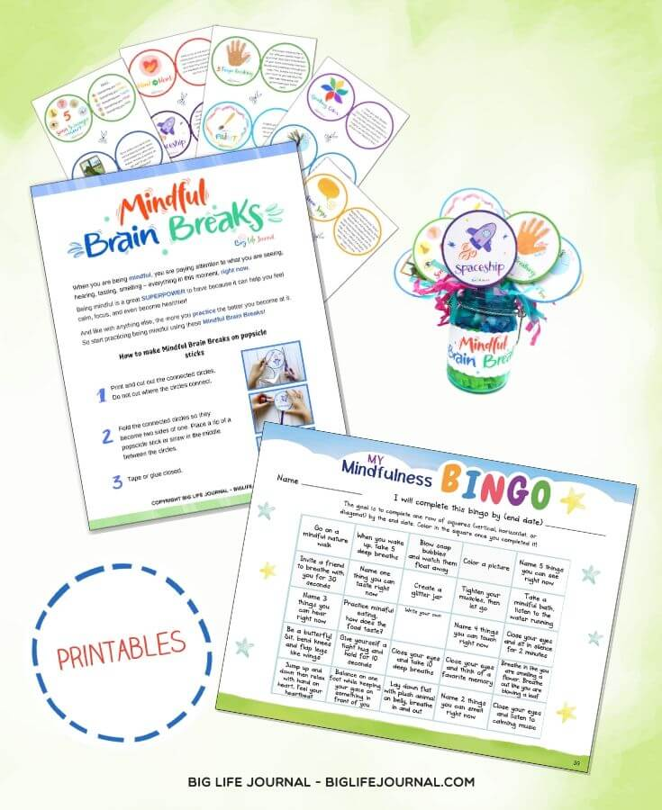 Mindfulness Activities for Kids - Positivity & Connection Kit