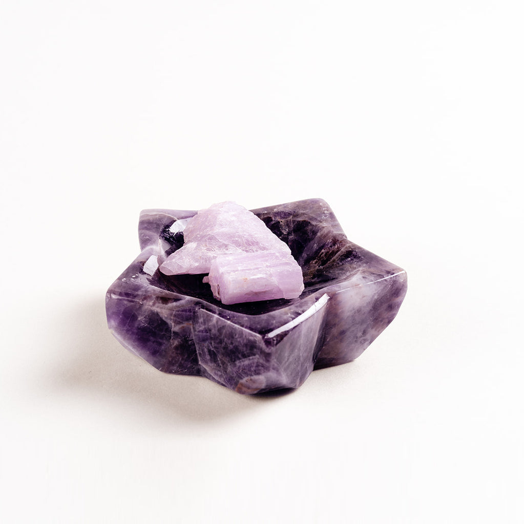 Amethyst Star Bowl