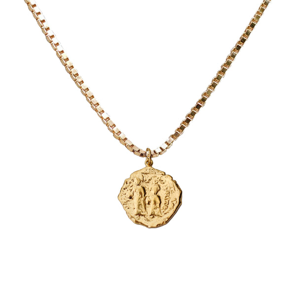 Athena Coin Necklace