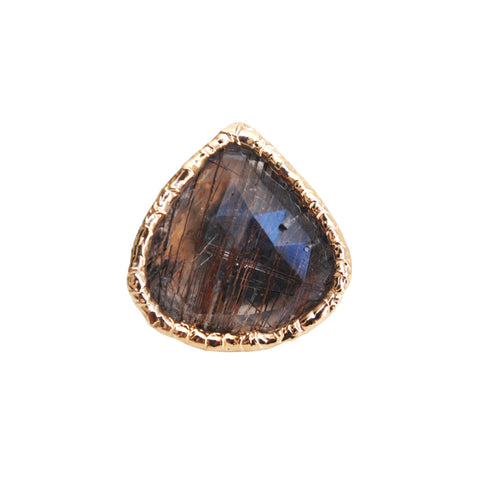 Black Rutilated Ring 01