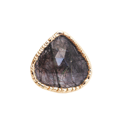 Black Rutilated Ring 02