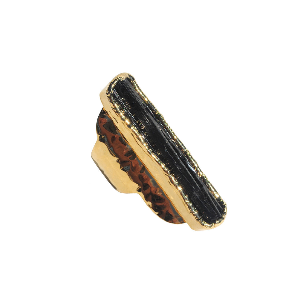 Black Tourmaline Ring 02