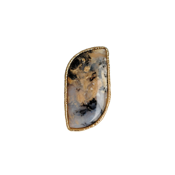 Dendritic Jasper Ring -02