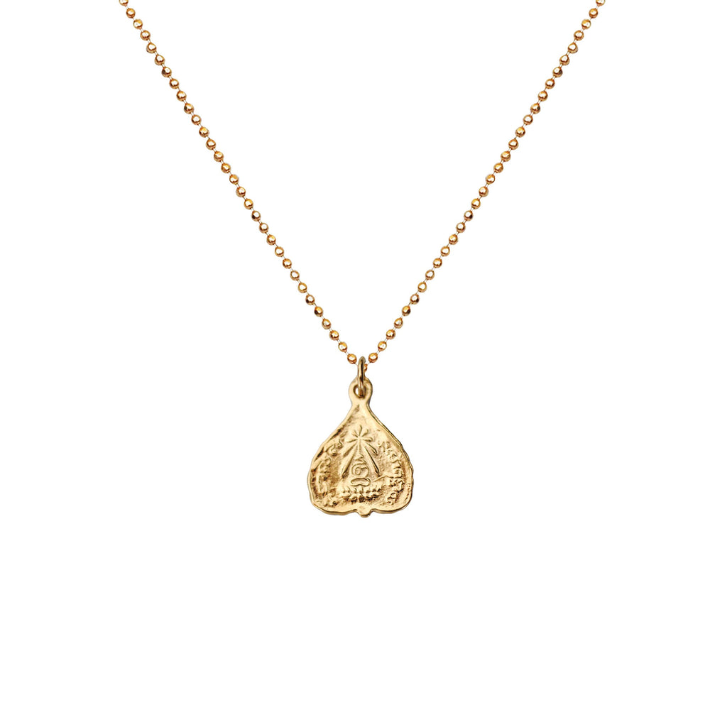 Chopra Coin Dainty Necklace