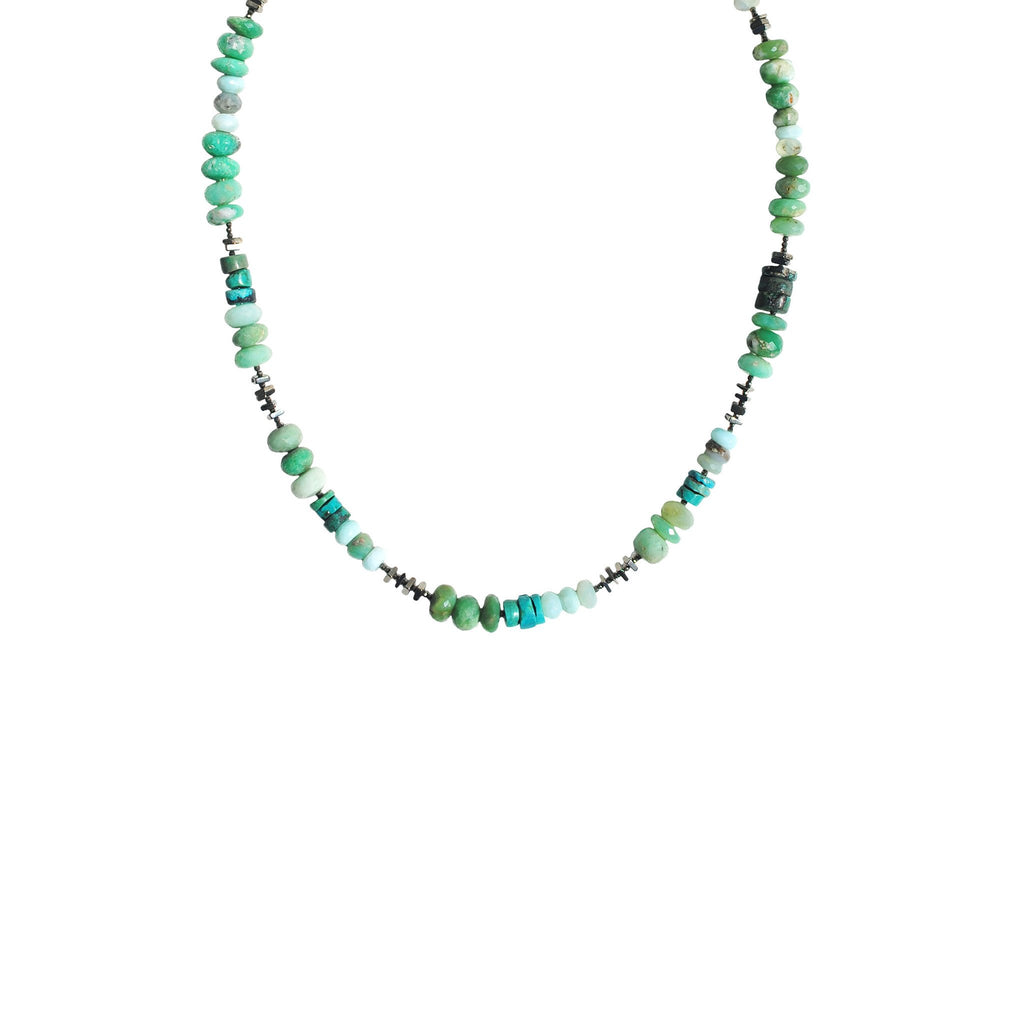 Chrysoprase Turquoise Vintage Necklace