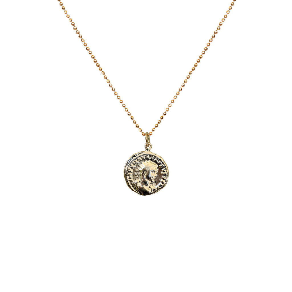 Vintage Reign Coin Necklace
