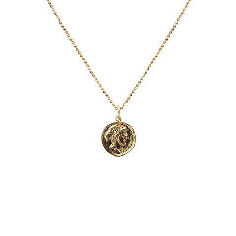 Vintage My Dear Coin Necklace