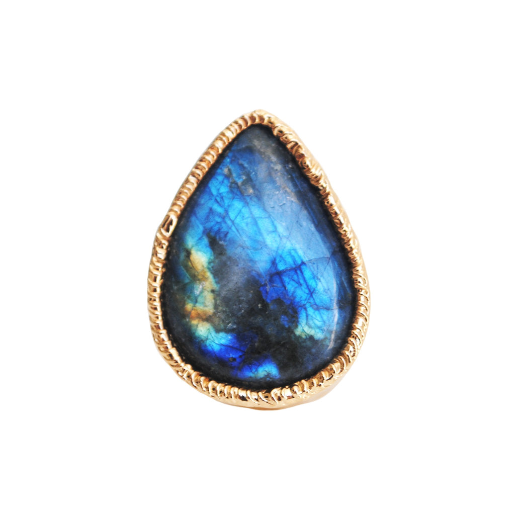 Labradorite Ring 04