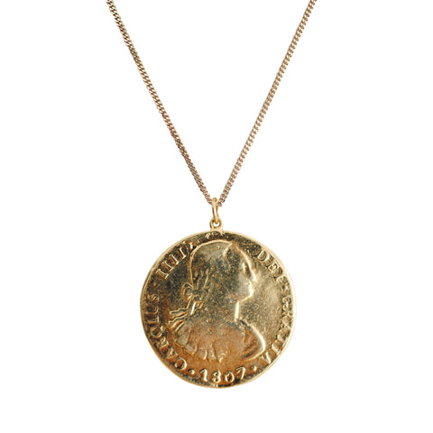 Carolus Medallion Necklace