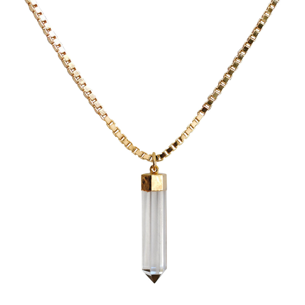 Crystal Point Kali Necklace