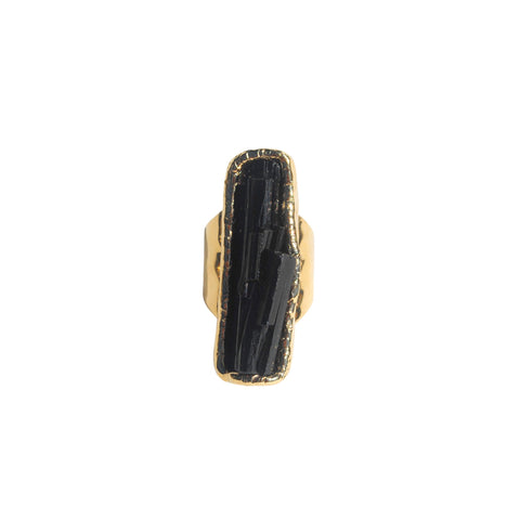 Black Tourmaline Ring 03