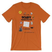 "Load image into Gallery viewer, ""Scary"" Halloween Unisex T-Shirt"