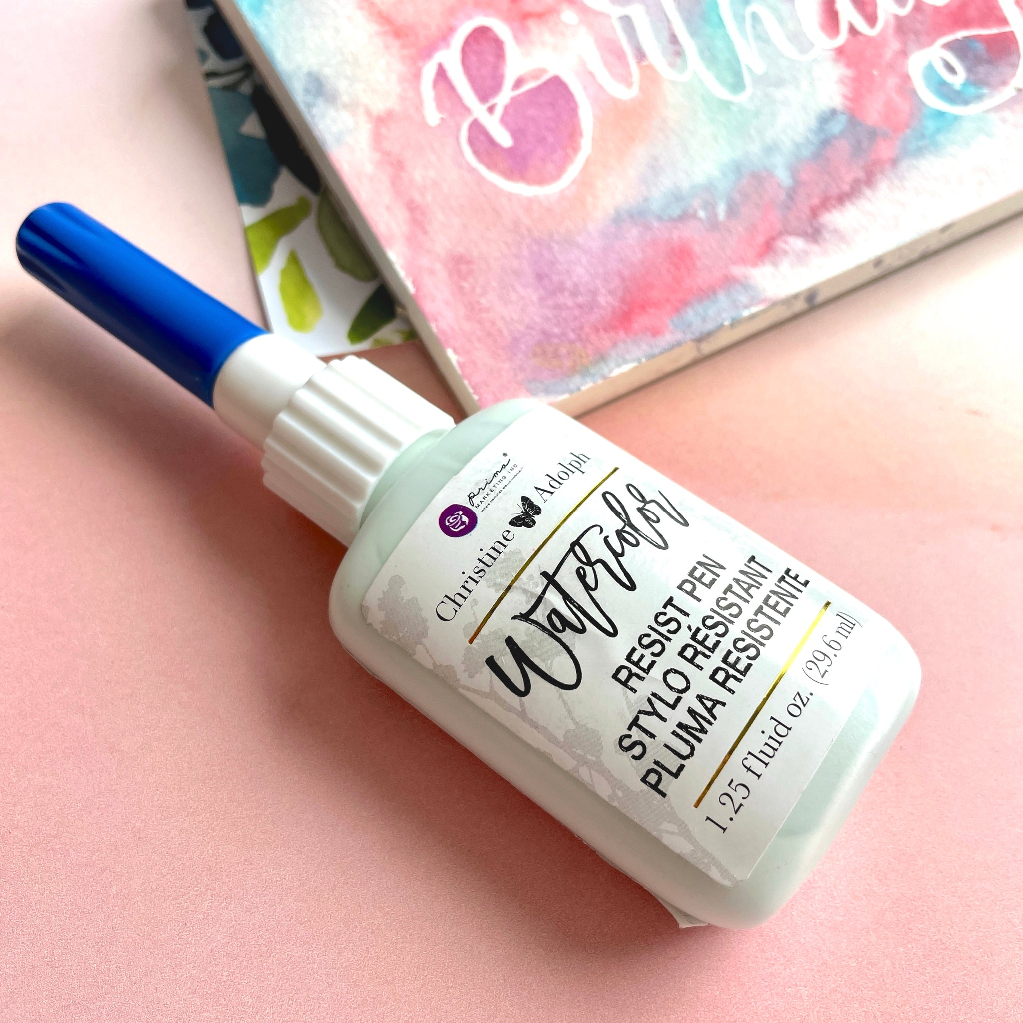 Watercolor Resist Pen / masking fluid