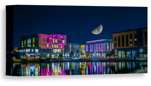 Southwater Telford at night by DS Media