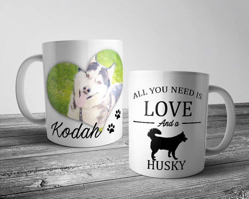 All you need is love and a ..... Dog Mug (Personalised)