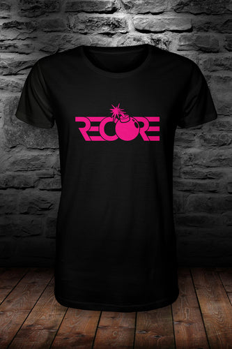 ReCore official t shirt black & pink