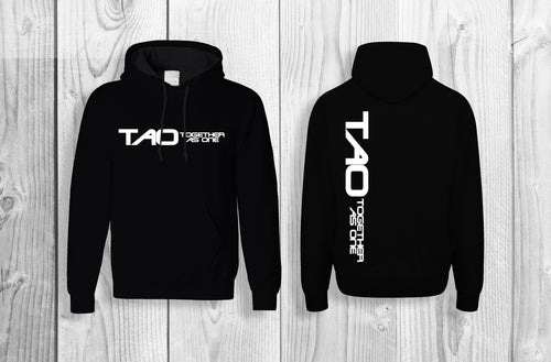 TAO - Together As One official pullover hoodie Black & White