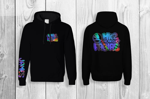 Mk2 Fabia Official pullover hoodie Black & reflective