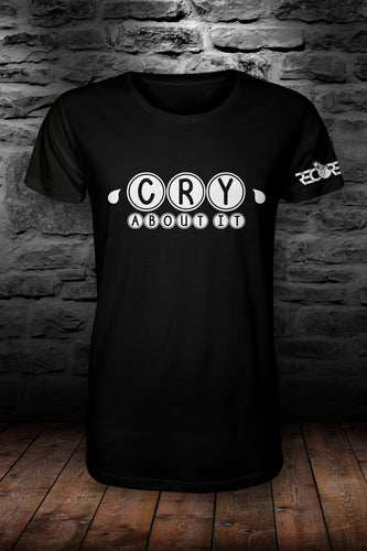 ReCore Cry About It t shirt black & pink