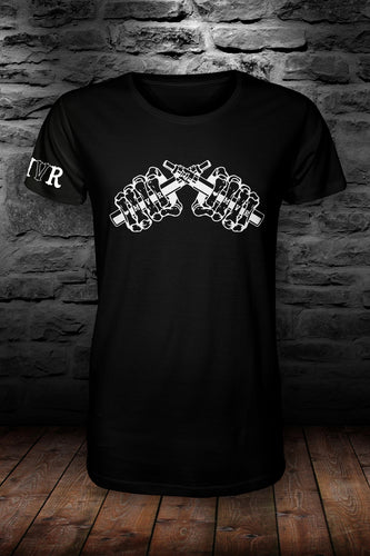 MVR official t shirt Black & white