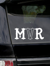 Load image into Gallery viewer, MVR Black & white official Beanie (FREE STICKERS)