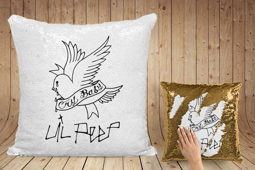 Lil Peep Cry Baby pillow case