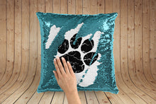 Load image into Gallery viewer, Ed Sheeran Paw Print magic pillow case