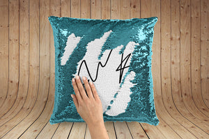 Ed Sheeran Signature Print magic pillow case