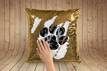 Load image into Gallery viewer, Ed Sheeran Signature Paw Print magic pillow case