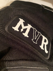 MVR Black & white official Beanie (FREE STICKERS)