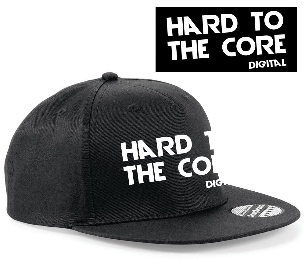 Hard to the core official SnapBack black & white