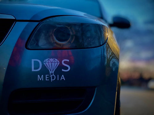 DS media bumper sticker