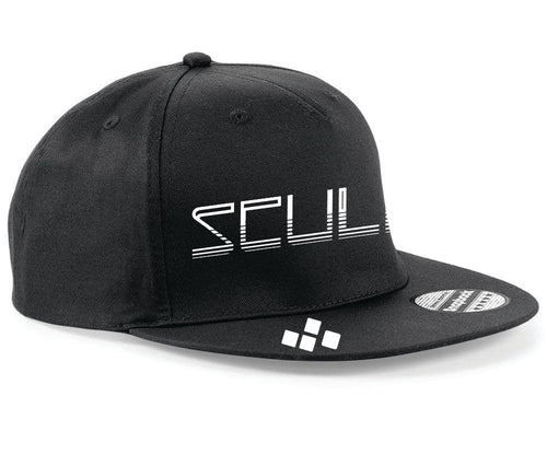 SKULL official SnapBack black & white  (FREE STICKER)