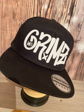 Load image into Gallery viewer, Mc Grimz Black & white official SnapBack