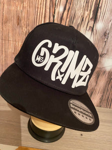 Mc Grimz Black & white official SnapBack