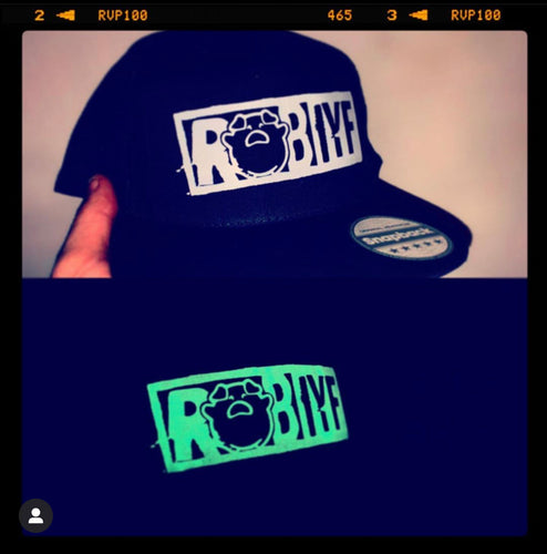 ROB IYF Black & glow official SnapBack (FREE STICKERS)