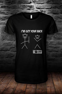 ROB IYF i've got your back t shirt