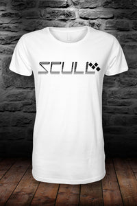 SCULL official t shirt White & Black