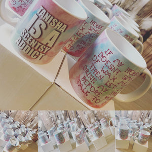 "Scentsy inspired ""if my house doesn't smell of wax melts.."" MUG"
