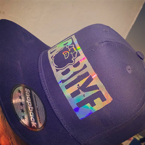 ROB IYF Purple reflective official SnapBack