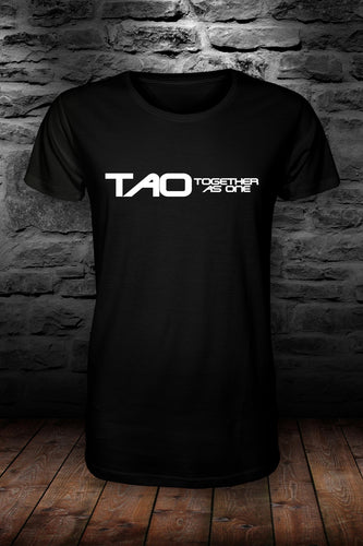 TAO - Together as one official t shirt Black & white